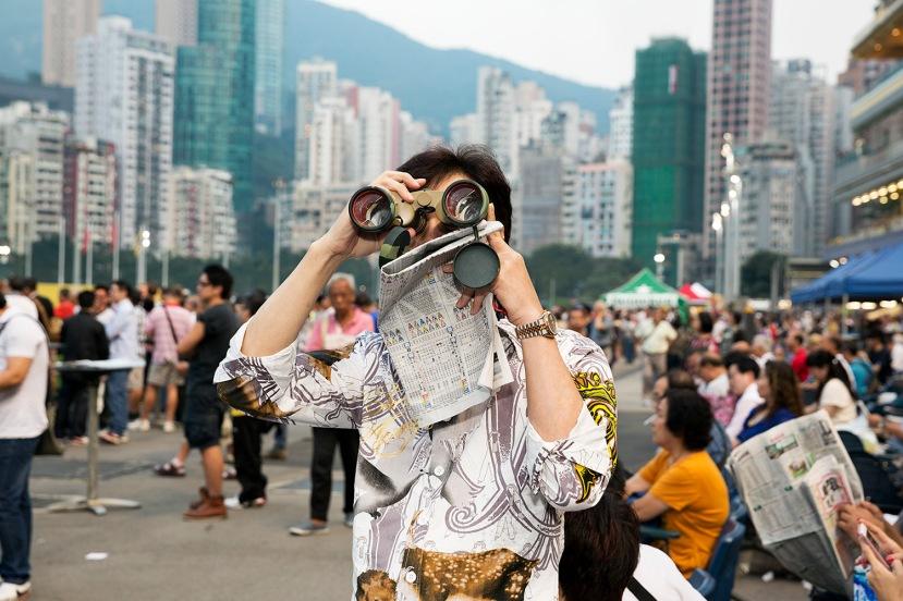 HONG KONG. Happy Valley Racecourse. 2013.