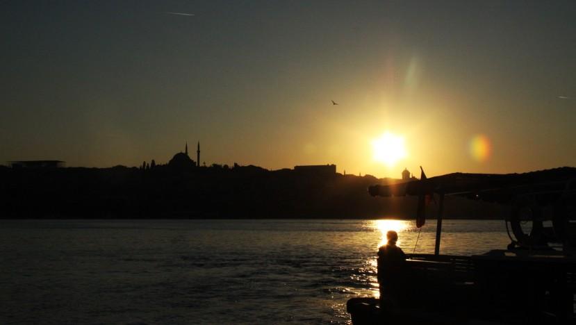 伊斯坦堡的黃昏
